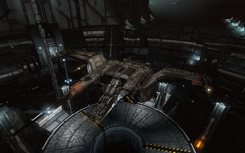 EVE Online Docked Golem Screenshot